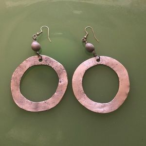 Earrings made in Swaziland, Africa